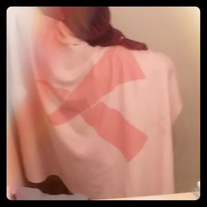 Breast cancer awareness throw